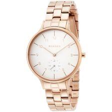 Skagen Ladies Rose Gold Bracelet Anita Watch SKW2417 - 2 Years Warranty