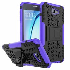 Rugged Hybrid Armor Shockproof Hard Case Stand Cover For Samsung Galaxy J7 Prime