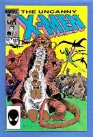 Uncanny X-Men #187 (1984) The DIRE WRAITHS! MARVEL Comics VF/NM