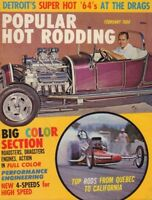 Popular Hot Rodding Magazine Rods From Quebec To Cali February 1964 011018nonr