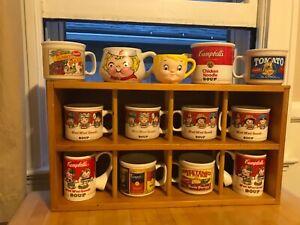 Vintage Campbell's Soup Mug Collection Set (13)