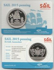 """SAIL AMSTERDAM 2015 PENNING""  IN COINCARD SCHAARS"