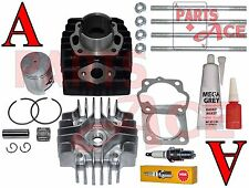 Suzuki Quadrunner LT 50 LT50 PISTON RINGS CYLINDER GASKET TOP KIT SET 1984-1987