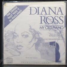 "Diana Ross - My Old Piano 7"" Mint- Promo Vinyl 45 Motown M 1531F USA 1980"
