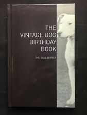 bull terrier birthday book staffordshire present dogs dog pit