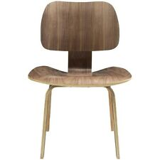 LexMod Fathom Dining Side Chair Walnut - EEI-620-WAL Dining Chair NEW