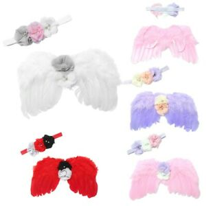 Baby Angel Wings Infant Girls Boys Headband Party Photo Shoot Photography Props