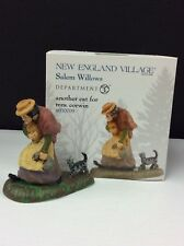 Dept 56 New England Village Another Cat For Mrs. Corwin #4030709 Nib