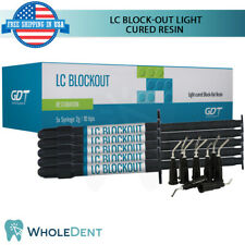 GDT Supplies LC Block Out Light Cured Resin Dental Lab Syringes Impression