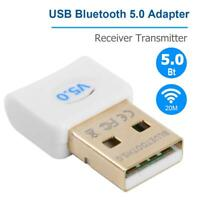 Bluetooth 5.0 Audio Receiver Transmitter Wireless USB Adapter for Laptop PC
