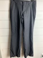 Women's Banana Republic Ryan Fit Work Pants 8 Long Grey