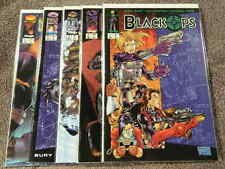 1996 IMAGE Comics BLACK OPS #1-5 Complete Limited Series - Sexy Heroins - F/NM