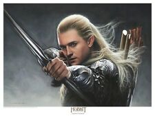 LEGOLAS  - THE HOBBIT lithograph by Jerry VanderStelt