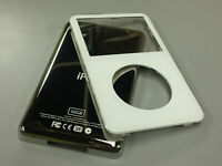 New White Front Faceplate + 30GB Back Cover Housing for iPod 5th 5.5 Gen Video