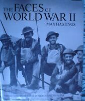 BOOK  MILITARY ARMY WAR THE FACES OF WORLD WAR 2 FULLY ILLUSTRATED 288 PAGES