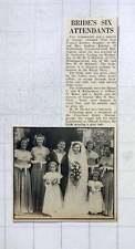 1949 Jean Kimber, Durrington Weds Ws Mitchell, Royal Navy