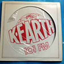 """Various-K-EARTH-1O1 FM- 12"""" PIC DISC-1978 Columbia PROMO ONLY- M-./M- UNPLAYED"""