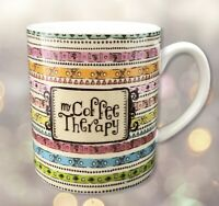 My Coffee Therapy Mug Cup Kindred Spirits Gifts by Hannah C.R. Gibson 14 oz.