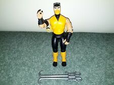Mortal Kombat Weapon LIU KANG Sword 1994 Original Figure Accessory