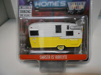 SHASTA 15´AIRFLYTE HITCHED HOMES ROULOTTE CARAVANA GREENLIGHT 1:64