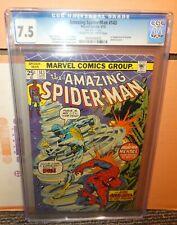 Marvel comics Amazing Spiderman cgc 7.5 143 Mark Jewelers insert avengers 1975