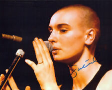 Sinead O'Connor Autographed 8x10 Photograph Rock Singer Songwriter COA TTM