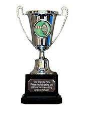 Darts and Dartboard Silver Moment Cup Award Trophy (F3) ENGRAVED FREE