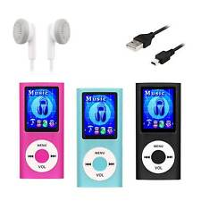 32GB Mp3 Player Mini Musik Aluminium Micro SD TF USB MP3 Player LCD Display Mp4