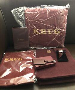 KRUG  CHAMPAGNE AFICIONADOS GOODY BAG X 6 ITEMS ALL BRAND NEW IN KRUG TOTE