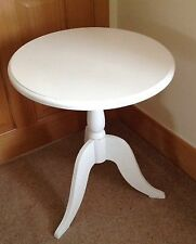 Wooden Round Side & End Tables