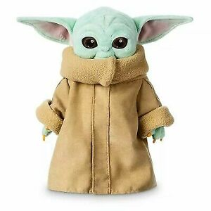30cm Baby Yoda Plush Toy Master The Mandalorian Force Stuffed Dolls Gift Kids