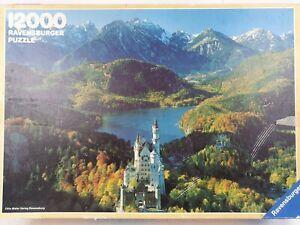 Ravensburger 12000 Piece Jigsaw Puzzle The Royal Castle 240x168 cm 1985 Vintage