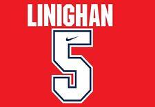 Linighan #5 Arsenal Camisa de fútbol local para hogar 1994-1995