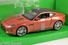 JAGUAR F TYPE COUPE in Orange 1/24 scale model by WELLY