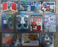 (30) Card NFL FOOTBALL HOT PACK LOT AUTO/PATCH/PRIZM/OPTIC/ROOKIES/INSERT/#