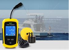 100M Fishfinder Portable Sonar Sensor Fish Finder Capturing Transducer Alarm+LCD