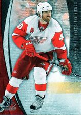 Henrik Zetterberg 10/11 SP Game Used Hockey #34