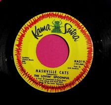 THE LOVIN' SPOONFUL - Nashville Cats - 45 rpm  Kama Sutra 219  VG++ to Near Mint