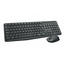 Logitech MK235 Wireless Keyboard und Mouse USB-Empfänger Tastatur- Maus- Set