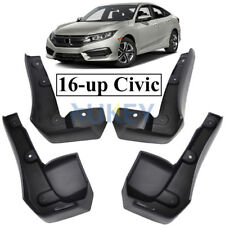 FITFOR ALL NEW HONDA CIVIC 2016-2019 MUD FLAPS SPLASH GUARDS MUDFLAPS FRONT REAR