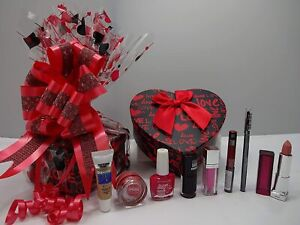 Maybelline Make Up Beauty Bundle Gift Box Hamper, Love Gift Set For Her