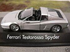 1/43 Herpa Ferrari Testarossa Spyder silber 19,99 STATT 30€ SONDERPREIS 010344