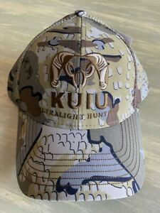 NEW WITH TAGS!!! Kuiu Ultralight Hunting Pro Mesh Back Hat Valo Camo OS