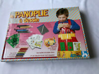 Rare Vintage 1982 La Panoplie a dessin By atelier NATHAN Children colouring game
