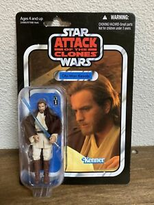 Obi-Wan Kenobi Star Wars Attack of the Clones Vintage Collection figure VC31