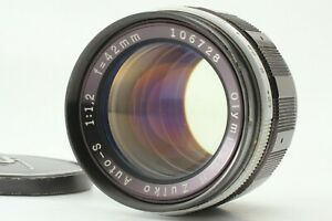 """""""Excellent+++++"""" OLYMPUS H.ZUIKO AUTO-S 42mm f1.2 Pen F FT FV Lens from Japan"""