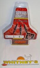"Swhacker Mechanical Broadhead 100 Grain 3 Blade - 1.50"" Cut - 225"