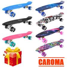 Skateboard Funboard Miniboard Penny Board Cruiser LED Räder 22