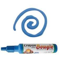 Crayon pour décoration de bougie 30ml - Cire liquide - bleu