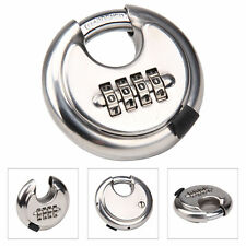 Amtech T1146 70mm 4-Digit Combination Disc Padlock